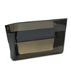 deflecto Letter-Size Magnetic Wall File Pocket, Letter, Smoke