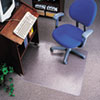 EconoMat No Bevel Chair Mat for Low Pile Carpet, 36w x 48h, Clear