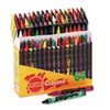 Crayons Made with Soy, Assorted, 64/Box