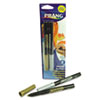 Metallic Washable Markers, Bullet Tip, Gold/Silver, 2/Set