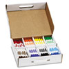 Washable Markers, Eight Assorted Colors, 200/Carton