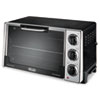 DeLONGHI Convection Oven w/Rotisserie, 12.5-Liter, 0.5 cu. ft., Black