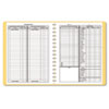 Dome Bookkeeping Record, Tan Vinyl Cover, 128 Pages, 8 1/2 x 11 Pages