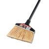 "Maxi-Angler Broom, Polystyrene Bristles, 51"" Handle, Black, 4/Carton"