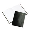 Day-Timer Bonded Leather Journal, Black, 160 Gold-Edged Pages, 5 1/2 x 7 3/4