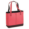 Leather Tote, 11-1/2 x 4 x 10, Pink