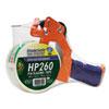 Duck Bladesafe Bladesafe Antimicrobial Tape Gun w/Tape, 3