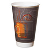 Dixie Hot/Cold Cups, Paper, 16 oz., Aroma Design, 500/Carton