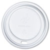 Dome Cup Lids, Fits 12-,16-oz. Cups, White, 1000/Carton