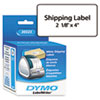 DYMO Shipping Labels, 2-1/8 x 4, White, 220/Box