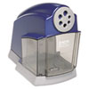 School Electric Pencil Sharpener, Blue/Gray