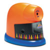 CrayonPro Electric Crayon Sharpener with Replacable Blade, Orange