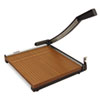 X-ACTO Wood Base Guillotine Trimmer, 12 Sheets, Wood Base, 12