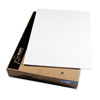 CFC-Free Polystyrene Foam Board, 40 x 30, White Surface and Core, 25/Carton