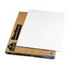 Polystyrene Foam Board, 40 x 30, White Surface and Core, 10/Carton