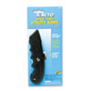 SurGrip Utility Knife w/Contoured Plastic Handle & Retractable Blade, Black
