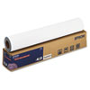 "Enhanced Adhesive Synthetic Paper, 24"" x 100 ft, White"