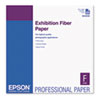 Epson Exhibition Fiber Paper, 17 x 22, White, 25 Sheets