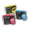 Epson T069520 Ink, Cyan; Magenta; Yellow, 3/Pack