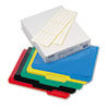 Hot Pocket Poly File Folders, 1/3 Cut Top Tab, Letter, Assorted, 25/Box