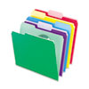 Pendaflex File Folders, InfoPocket, 1/3 Cut Top Tab, Letter, Assorted, 30/Pack