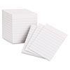 Oxford Ruled Mini Index Cards, 3 x 2 1/2, White, 200/Pack