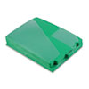 "Pendaflex End Tab Poly Out Guides, Center ""OUT"" Tab, Letter, Green, 50/Box"