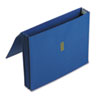 Pendaflex Color Wallet, 3 1/2 Inch Expansion, 11 3/4 x 9 1/2, Dark Blue