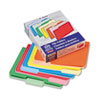 Pendaflex Two-Tone File Folders, 1/3 Cut Top Tab, Letter, Assorted Colors, 100/Box