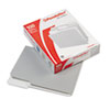 Two-Tone File Folders, 1/3 Cut Top Tab, Letter, Gray/Light Gray, 100/Box