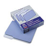 Two-Tone File Folder, 1/3 Cut Top Tab, Letter, Lavender/Light Lavender, 100/Box