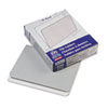 Two-Tone File Folders, Straight Cut, Top Tab, Letter, Gray/Light Gray, 100/Box