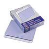 Two-Tone File Folder, Straight Top Tab, Letter, Lavender/Light Lavender, 100/Box