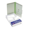Pressboard Folders with Two 2&quot; Capacity Fasteners, Legal, Green, 25/Box