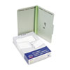 Pressboard Folders with Two 3&quot; Capacity Fasteners, Legal, Green, 25/Box