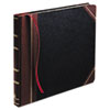 Columnar Book, Record Rule, Black Cover, 300 Pages, 14 1/8 x 10 7/8