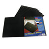 Certificate Holder, 12-1/2 x 9-3/4, Black, 5/Pack