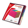 Pendaflex Top Tab File Guides, Alpha, 1/5 Tab, Polypropylene, Letter, 25/Set