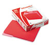 Pendaflex Interior File Folders, 1/3 Cut Top Tab, Letter, Red, 100/Box