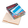 Interior File Folders, 1/3 Cut Top Tab, Letter, Manila 100/Box