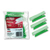 Pendaflex Hanging File Folder Tabs, 1/3 Tab, 3 1/2 Inch, Green Tab/White Insert, 25/Pack