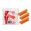 Pendaflex Hanging File Folder Tabs, 1/3 Tab, 3 1/2 Inch, Orange Tab/White Insert, 25/Pack