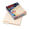 Pendaflex CutLess/WaterShed File Folders, 1/3 Cut Top Tab, Letter, Manila, 100/Box