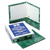 Marble Laminated High Gloss Paper, Emerald Green