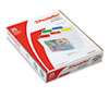 Pendaflex EasyView Poly File Folders, 1/3 Cut Top Tab, Letter, Clear, 25/Box