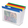 Pendaflex EasyView Poly Hanging File Folders, Letter, Assorted Colors, 25/Box