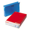Pendaflex Two Inch Expansion Hanging Box Bottom Folders with Sides, Legal, Blue, 25/Box