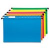 Pendaflex SureHook Poly Laminate Hanging Folders, 1/5 Tab, Legal, Assorted, 20/Box