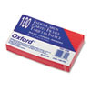 Oxford Ruled Index Cards, 3 x 5, Cherry, 100/Pack