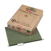 Pendaflex Earthwise Earthwise100% Recycled Paper Hanging Folders, Letter, Standard Green, 25/Box